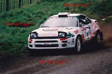 Juha Kankkunen Toyota Celica Turbo 4WD Rally New Zealand 1993 Photograph 2