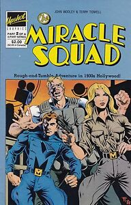 THE MIRACLE SQUAD #2 1986 JOHN WOOLEY TERRY TIDWELL 1930s HOLLYWOOD ADVENTURE