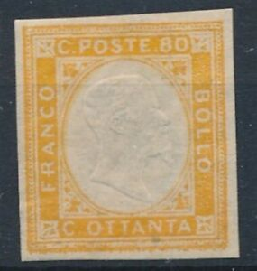 [7601] Italy 1855-63 good stamp very fine MH