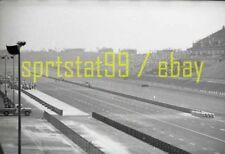 1970 USAC California 500 - Grandstand & Pit Scene - Vintage Race Negative
