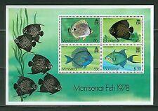 Montserrat Fish Stamps