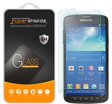 2X Supershieldz Samsung Galaxy S4 Active Tempered Glass Screen Protector Saver