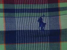 Ralph Lauren multi colour checks shirt large mens, custom fit - S1334N