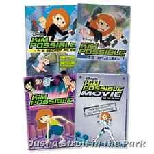 Kim Possible: Disney TV Series Complete Volumes 1-2 + Movies Box/DVD Set(s) NEW