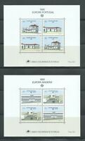 PORTUGAL Madeira  | 1990 | Lot of 2 Europa CEPT Minisheets. Mint NH.