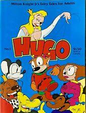 HUGO #1 (Fantagraphics, Winter 1982) First series, Milton Knight Jr! VF-NM