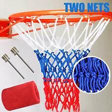 Gnawrishing Basketball Nets, 2 Pack Heavy Duty Basketball Nets, Premium Quality