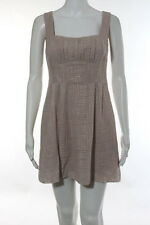 Nanette Lepore Pink Embroidered Textured Dress Size 2