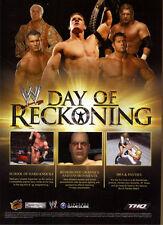 WWE Day Of Reckoning 2004 Magazine Advert #5342