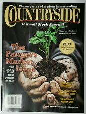 Countryside & Small Stock Journal Farmers Market Mar Apr 2016 FREE SHIPPING JB