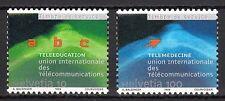 Switzerland - Offices /  UIT / ITU - 1999 Tele-education - Mi. 16-17 MNH