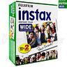 20 PCS BOX Fujifilm INSTAX WIDE Instant film picture for camera 100/200/210/300