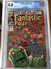 CGC 4.0 Fantastic Four Annual #6 *OW-White*1968*1st Annihilus, Franklin Richards