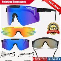 Pit Viper Sport google TR90 Polarized Sunglasses for men/women Outdoor mirrored