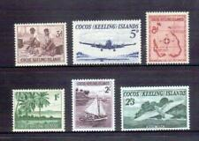 COCOS IS 1963 postage set MUH