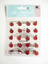 Jolee'S BOUTIQUE Pegatinas 3D-Lady Bug repite-Ladybird-Mariquitas