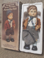 Handpainted Bisque Porcelain Alpine Boy Doll - Chadwick Miller Inc - Item 95706