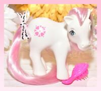 ❤️My Little Pony MLP G1 VTG Megan's SUNDANCE No Country Pony White Pink Heart❤️