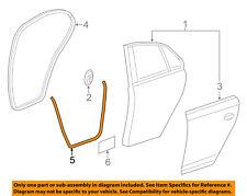 VW VOLKSWAGEN OEM 11-16 Jetta Rear Door-Seal Strip Right 5C6839700C