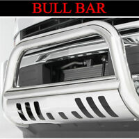 CHROME BULL BAR FIT 2007-2009 FORD EXPEDITION WITH SKID PLATE FRONT GRILLE GUARD
