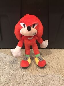 Knuckles Sonic the Hedgehog NEW Stuffed Plush 28 cm Toy