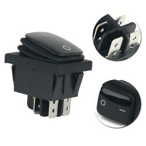 1Pc 12V 20A Waterproof Car Auto Boat Round Rocker ON/OFF TOGGLE SPST SWITCH S