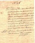 AUTOGRAPH LOUISIANA MAJOR GENERAl JACQUES VILLERE BATTLE OF NEW ORLEANS WAR 1812
