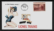 Lionel 746 Norfolk & Western & Pin Up Girl Featured on Collector's Envelope A469