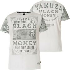 Yakuza Sick n fxck t-shirt tsb-10067 Black negro t-shirts