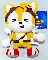 """Sonic Boom 8"""" Emoji Small Plush Tails - Laugh Version (Sonic The Hedgehog)"""
