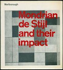Mondrian De Stijl and Their Impact. Catalogo di mostra, Marlborough Gallery 196
