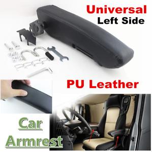Universal Adjustable PU Leather Truck Seat Armrest Console Box Car Seat Arm Rest