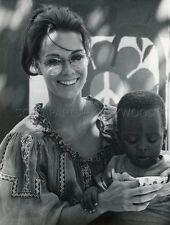 BARBARA LEIGH  SI TU CROIS FILLETTE  1971 VINTAGE PHOTO ORIGINAL #1