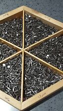 IN1 50 Sharp Light & Medium Cut Hand Tacks Nails for Upholstery Cobblers Tools