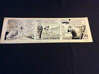 ROBIN MALONE Original Daily Strip by Bob Lubbers  May 23, 1967  Good Girl Art