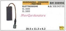 KIT spazzole HUSQVARNA per elettrosega EL 1600 1800 008996 508.0437.05
