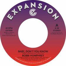 NEW !!!  BOBBI HUMPHREY - Baby don't you know / Instrumental -  7'' VINYL EX7030