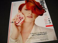 LA ROUX wasn't as hardcore as she thought 2014 PROMO DISPLAY AD mint condition