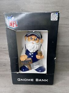 DALLAS COWBOYS Childrens Gnome Piggy Bank Statue Figurine Limited Edition New*