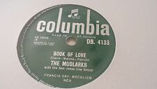 THE MUDLARKS BOOK OF LOVE & YEA YEA COLUMBIA DB4133