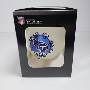 Tennessee Titans Glass Ornament NFL Officially Licensed NEW