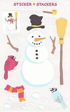 Mrs. Grossman's Giant Stickers - Sticker Stackers Snowman - 2 Strips