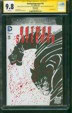 Batman Dark Knight 30 CGC 2XSS 9.8 Erwin Frank Miller Original art Homage sketch