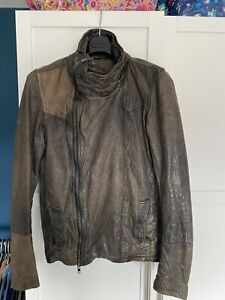 ALL SAINTS MILITARY FLYING JACKET LUFTWAFFE STYLE Size L