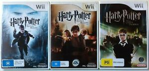 Harry Potter and The Deathly Hallows Part 1&2 and The Order of The Phoenix Wii