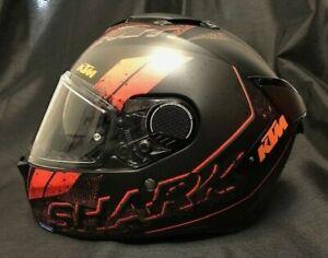 SHARK SPARTAN GT RYSER 2021 with KTM Stickers Motorcycle Aerodynamic Helmet