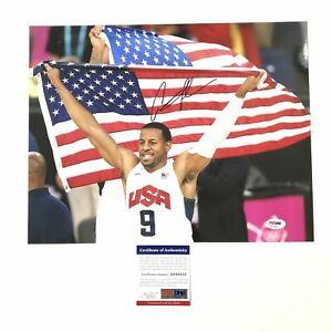 Andre Iguodala signed 11x14 photo PSA/DNA Team USA Autographed