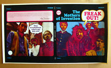The MOTHERS OF INVENTION 1966 US Unused LP Cover Slick CAL SCHENKEL Frank Zappa