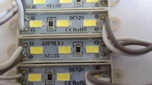 20 PACK LED MODULES 3 SMD5730 IP65 DC 12V BRIGHT STRIP LAMP LIGHT COOL WHITE