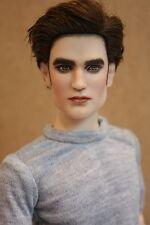 """Tonner Tyler Matt17"""" OOAK TWILIGHT Edward Cullen Repaint Art Doll by SashaBleu"""